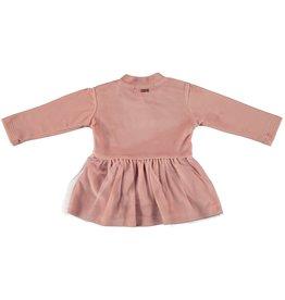 "Le Chic Le Chic dress velours ""CHIC"" C908-9897 Victorian Pink"