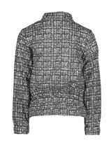 Le Chic Le Chic indoor jacket glitter tweed C909-5128 Grey Iron