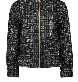 Le Chic Le Chic indoor jacket glitter tweed C909-5128 Grey Iron