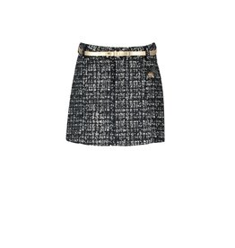 Le Chic Le Chic skirt glitter tweed C909-5728 Grey Iron