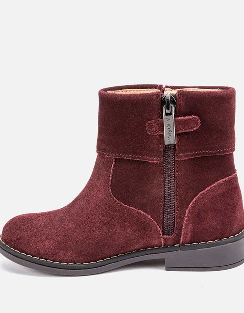 Mayoral Mayoral Leather bootie Bordeaux - 48021