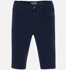 Mayoral Mayoral 5 pocket slim fit basic pant Dark blue - 00563