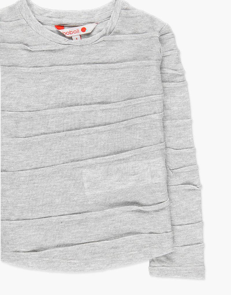 Boboli Boboli Knit t-Shirt fantasy for girl fog 728399