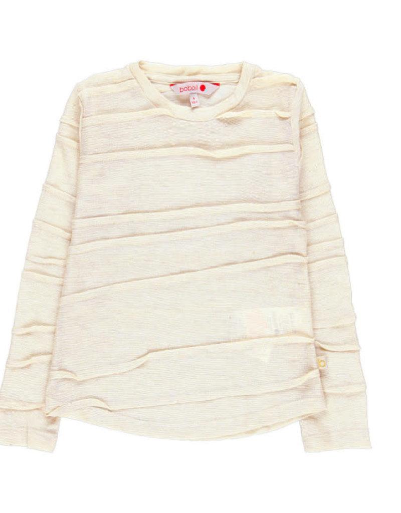 Boboli Boboli Knit t-Shirt fantasy for girl beige 728399
