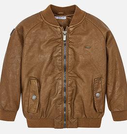 Mayoral Mayoral Bomber Jacket Leather - 04440