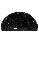 Boboli Boboli Velvet hat for girl BLACK 728557