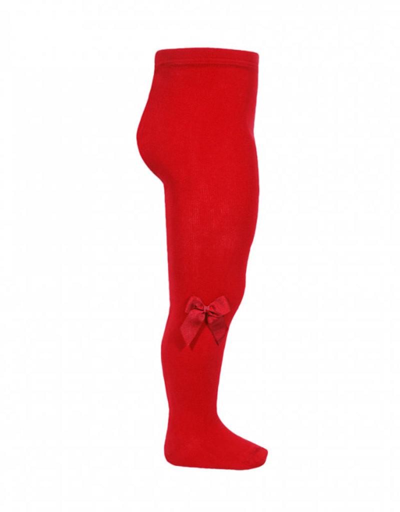 Condor Condor Maillots rood met fluwelen strikken