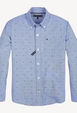Tommy Hilfiger Tommy Hilfiger Overhemd MINI DOBBY licht blauw