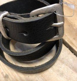 Oxxy Oxxy Riem zwart  smal 2 cm.