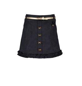 Le Chic Le Chic skirt A-line suede-look C908-5720 blue