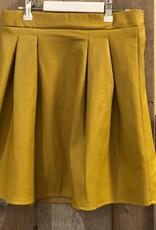 Villa Style Villa STYLE rok oker geel met goudkleurige rits