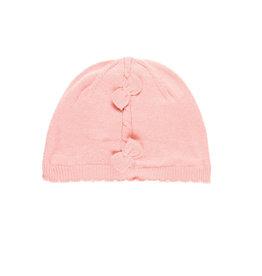 Boboli Boboli Knitwear hat for baby girl oud roze 708117