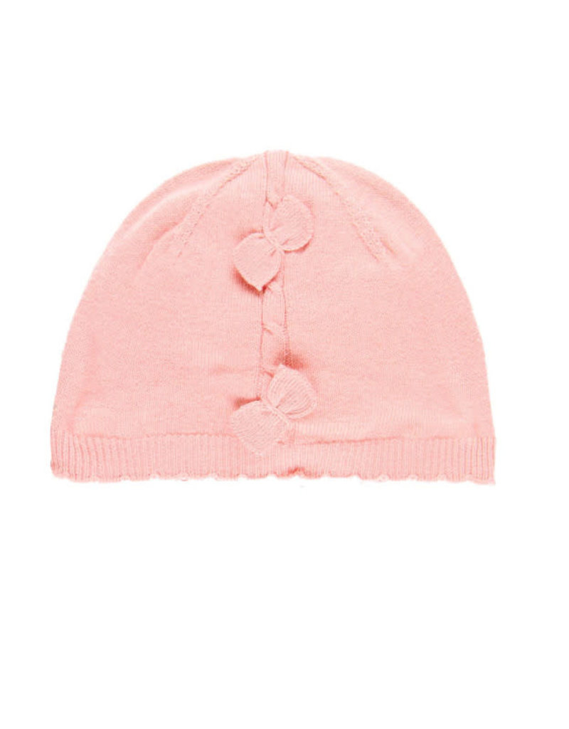 Boboli Boboli Knitwear hat for baby girl oud roze 708117