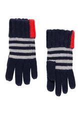 Boboli  Handschoene ruit rood wit blauw