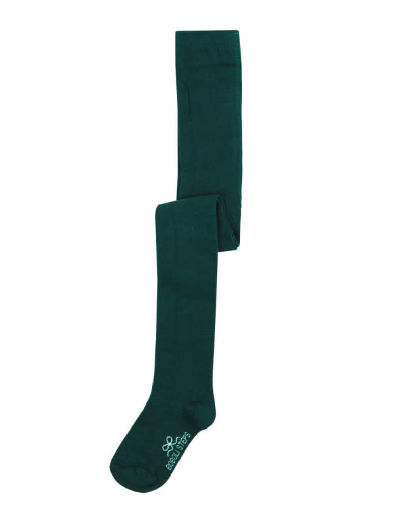 Boboli Boboli Basic thick tights for girl GREEN