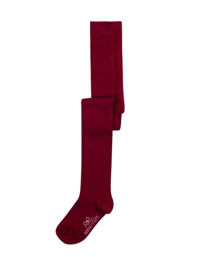 Boboli Boboli Basic thick tights for girl BORDEAUX