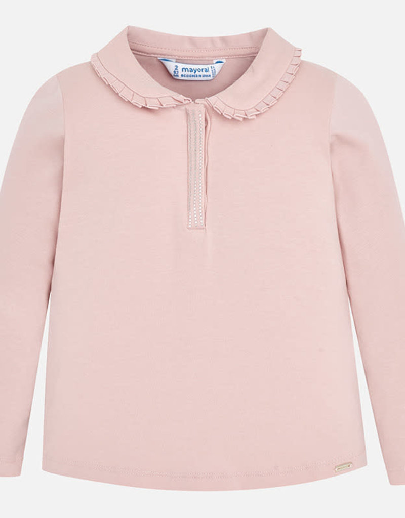 Mayoral Mayoral L/s t-shirt basis roze