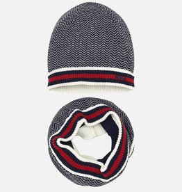 Mayoral Mayoral Hat and neck warmer set for boy