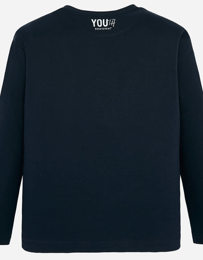 Mayoral Mayoral Long sleeved skate print t-shirt blue for boy