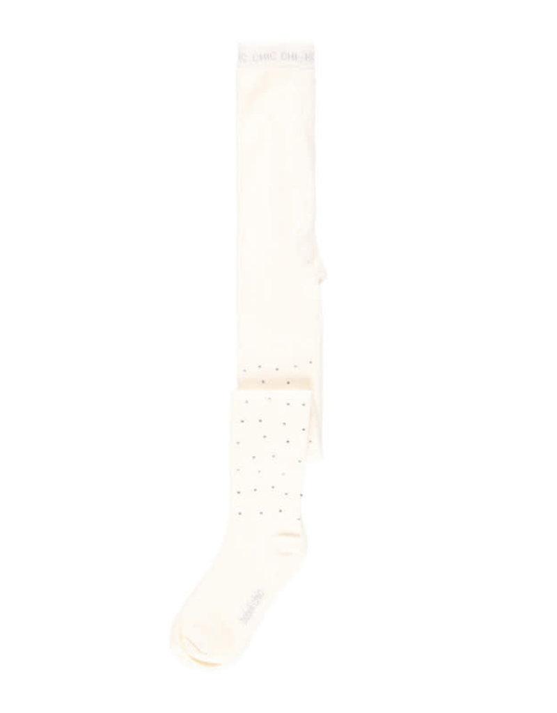 Boboli Boboli Thick tights for girl white 728120