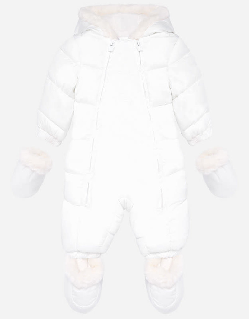 Mayoral Unisex snowsuit for newborn baby