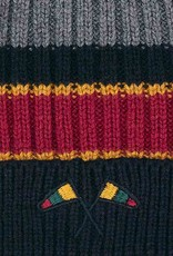 Mayoral Striped hat and scarf set for boy