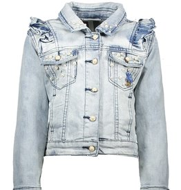 Le Chic Le Chic jeans jacket light washed C911-5186 Classic Light Denim
