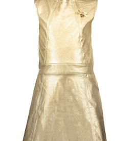 Le Chic Le Chic dress precious metal look C911-5801 Fields of Gold