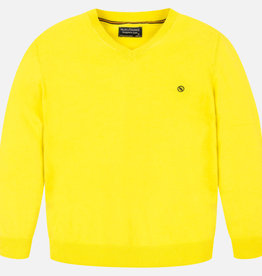 Mayoral Mayoral Basic cotton sweater Lemon - 00356
