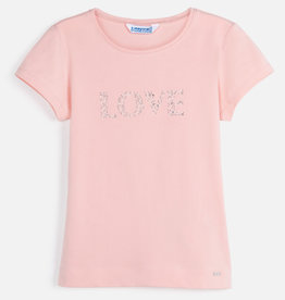 Mayoral Mayoral Basic s/s t-shirt Nude - 00854