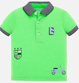 Mayoral Mayoral Polo s/s serigraphs Apple - 01147