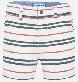 Mayoral Mayoral Striped bermuda shorts Hibiscus - 01287
