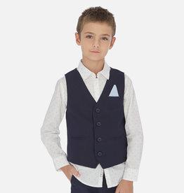 Mayoral Mayoral Linen vest Navy - 06452