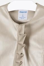 Mayoral Mayoral Leatherette jacket Golden - 06457