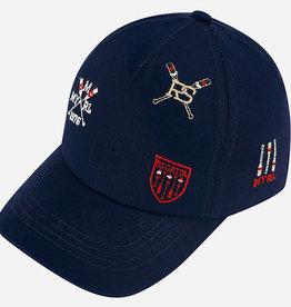 Mayoral Mayoral Embroidered visor Navy - 10791