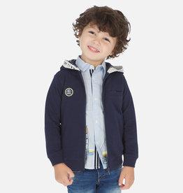 Mayoral Mayoral Applique hoodie Storm - 03448