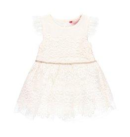 Boboli Boboli Guipure dress for baby girl white 709309