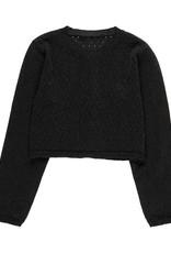 Boboli Boboli Knitwear jacket for girl BLACK 729705