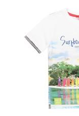 Boboli Boboli Knit t-Shirt for boy WHITE 529073