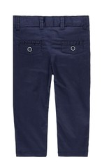 Boboli Boboli Stretch satin trousers for baby boy NAVY 719029