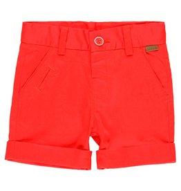Boboli Boboli Satin bermuda shorts stretch for baby boy red 719052