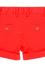 Boboli Boboli Satin bermuda shorts stretch for baby boy red 719052