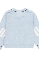 Boboli Boboli Knitwear jacket for baby boy BLUE 719120