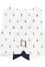 Boboli Boboli Vest combined for baby boy NAVY 719164