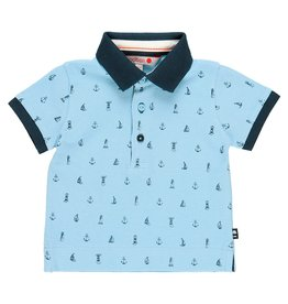 Boboli Boboli Pique polo for baby boy print 719221