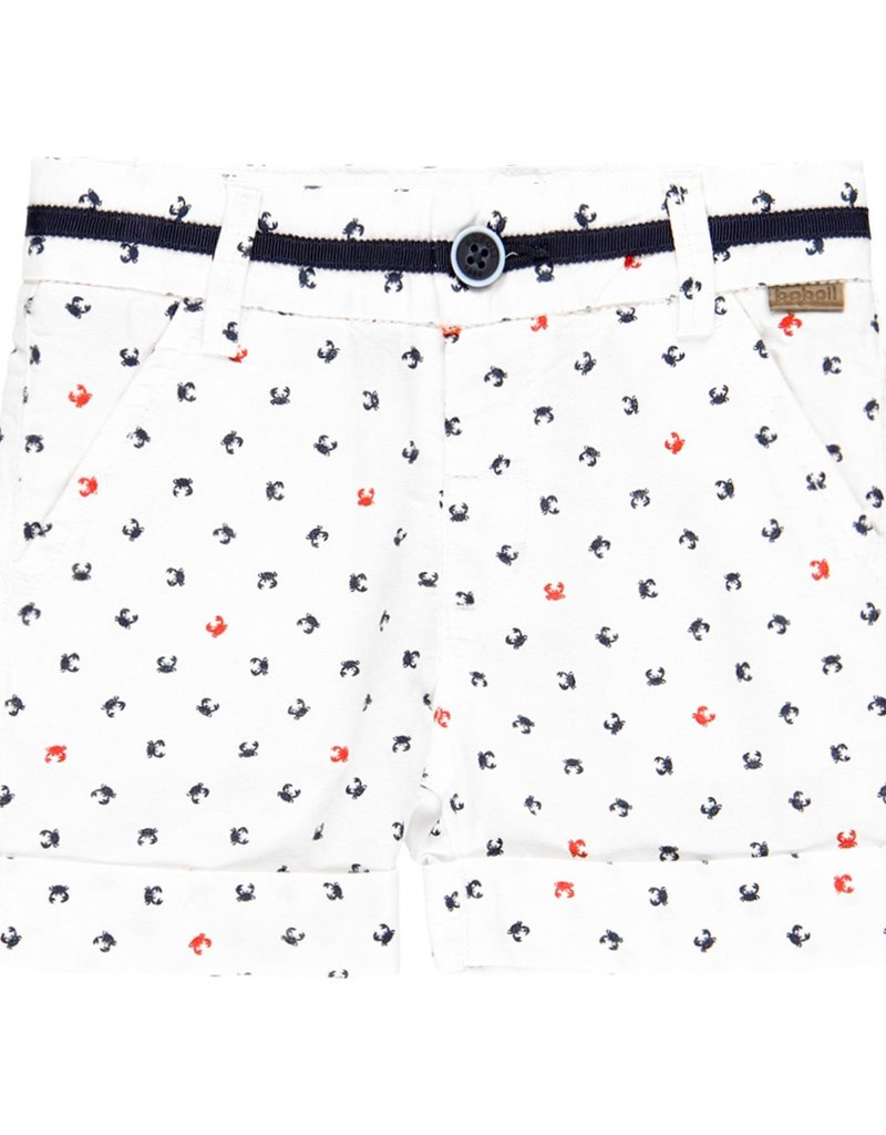 Boboli Boboli Oxford bermuda shorts for baby boy print 719298