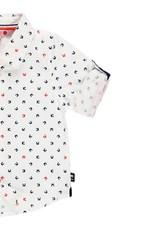 Boboli Boboli Poplin shirt for baby boy print 719300