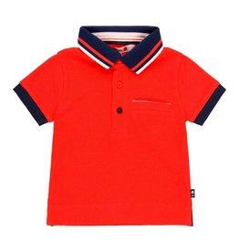 Boboli Boboli Pique polo for baby boy red 719322