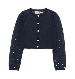 Boboli Boboli Knitwear jacket for girl NAVY 729211