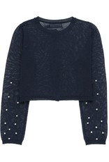 Boboli Boboli Knitwear jacket for girl NAVY 729211